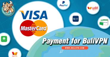วิธีชำระค่าบริการ BullVPN ผ่านบัตร Credit/Debit Card