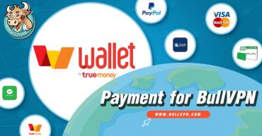 วิธีชำระเงิน BullVPN ด้วย True Wallet